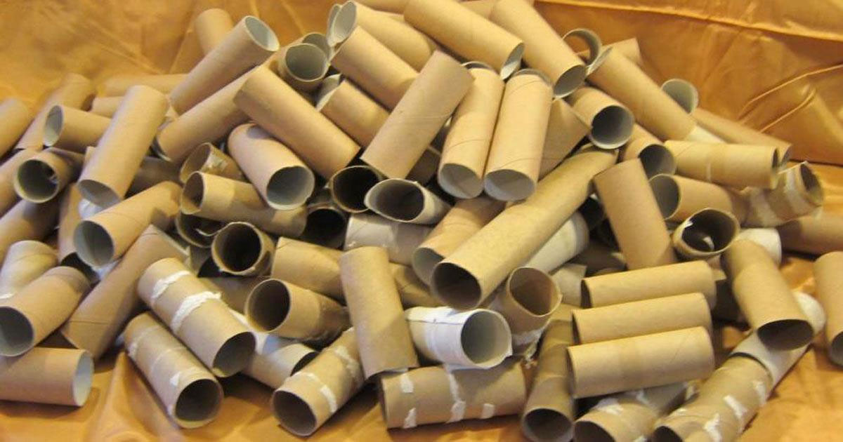 Stop throwing away empty toilet paper rolls. Here's 11 ways to reuse them around the house
